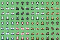 Granny's Lists - VX Ace Animal Sprites - RPG Maker VX Community
