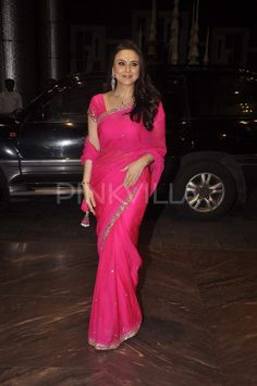 Preity Zinta in Manish Malhotra