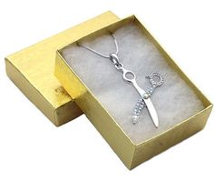 Gift for hairdresser hair #designer #stylist #scissors beauty salon necklace n201,  View more on the LINK: 	http://www.zeppy.io/product/gb/2/231429958634/