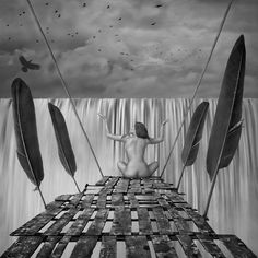 Buy Border, Black & white photograph (Giclée) by Dariusz Klimczak on Artfinder. Discover thousands of other original paintings, prints, sculptures and photography from independent artists.