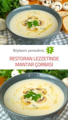 You didn't eat like this? How to prepare Mushroom Soup?- You didn't eat like this? How to prepare Mushroom Soup? # mushroom soup Bö… You didn't eat like this? How to prepare Mushroom Soup? Yummy Recipes, Soup Recipes, Vegan Recipes, Yummy Food, Mushroom Soup, Mushroom Recipes, Shrimp Mushroom, Healthy Eating Tips, Clean Eating Snacks