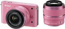 Nikon 1 Digital Camera with Lens Kit Pink 1 Pink - Best Buy. I have the same camera in white! Pink is so beautiful! Nikon Digital Camera, Camera Nikon, Camera Gear, Digital Cameras, Dslr Cameras, Pink Love, Pretty In Pink, Pink Camera, Genius Ideas
