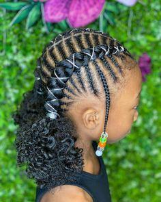 Black Little Girl Hairstyles, Black Kids Braids Hairstyles, Natural Hairstyles For Kids, Baby Girl Hairstyles, Cute Hairstyles, Natural Hair Styles, School Hairstyles, Toddler Hairstyles, Gorgeous Hairstyles