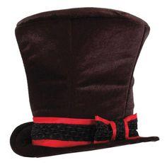 Willy Wonka Top Hat. Halloween with Tim Burton ~~ Halloween Party Decorations & Ideas