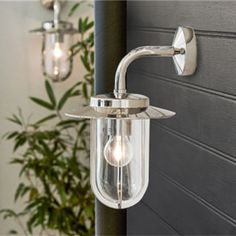 Beautiful Montparnasse Simple Traditional Outdoor Polished Nickel Wall Light. Smart, sophisticated and quality