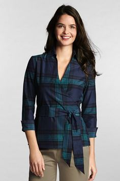 Cute! I can see my mom looking for a shirt like this when she bought some of her favorite flannels :)