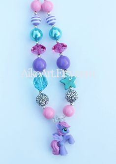 Star Dasher My Little Pony Chunky Necklace