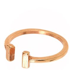 Rose Gold Open Cuff Ring