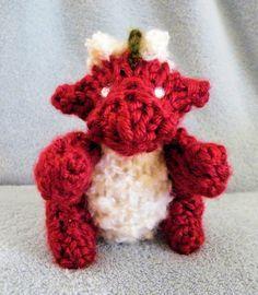 How to Loom Knit a Mini Dragon