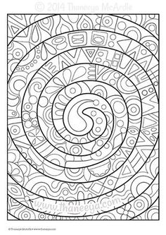 Fun And Funky Coloring Book Blank Page