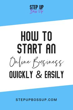 Do you want to start your online business quickly? This step-by-step action plan will help you start your online business in 8 steps. Starting a business doesn't have to be overwhelming. Start A Business From Home, Naming Your Business, Branding Your Business, Business Names, Growing Your Business, Starting A Business, Online Business, Lead Magnet, Creating A Brand