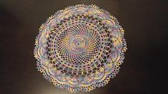 Check out this item in my Etsy shop https://www.etsy.com/listing/531925463/multi-color-round-doily-15-inches
