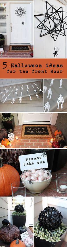 5 easy DIY Halloween ideas for your front door