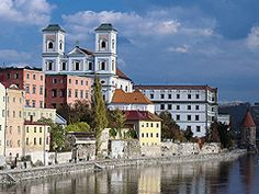 Europe River Cruise - Passau  Getting ideas for our own Winter tour