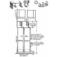 Johnson Prod. 2200F962 Double Wheel Sliding Door Hardware -- See this great product.