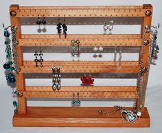 stojánek - stojának na šperky - šperkovnice -  náušnice - praktický - Necklace Holder, Jewelry Holder, Jewelry Necklaces, Shelf, Antiques, Earrings, Home Decor, Antiquities, Ear Rings