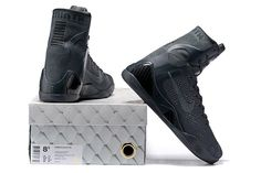 a4f58b5a0dee Nike Kobe 9 Elite FTB Anthracite Anthracite Basketball Shoes 2016 Release