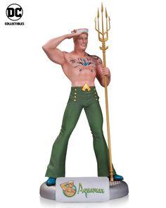 DC Comics Bombshells Aquaman Statue  www.FanboyCollectibles.com  https://www.facebook.com/fanboy.collectibles/  https://twitter.com/FanboyCollect  https://www.instagram.com/fanboycollectibles/  https://fanboycollectibles.tumblr.com