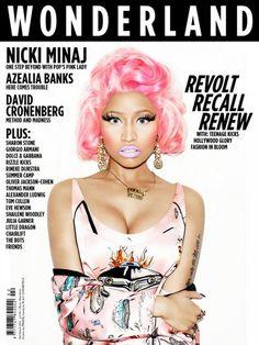 Nicki Minaj Covers Wonderland Magazine Cover - Superficial Diva ...