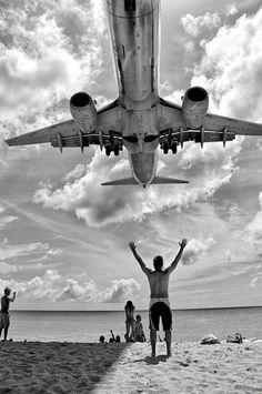 Landing Boeing 737