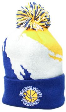 7bece5fae48 123Beanies Golden State Warriors Paintbrush Beanie (Blue White Yellow) on  shopstyle.com