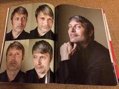 ムビスタ8月号のマッツは可愛さハンパないよ_:(´ཀ`」 ∠):_ … #MadsMikkelsen MovieStar Japan Magazine (2)