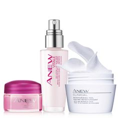 A $62 value, the collection includes:•Anew Clinical Retexturizing Peel -peel away dullness, reveal instant radiance.30 unscented pads a $22 value•Anew Vitale Day Lotion Broad-Spectrum SPF 25 -skin looks poreless in 1 week and naturally radiant. 1.7 fl. oz. a $28 value.•Anew Vitale Night Cream Try-It Size -overnight, skin looks like you've had 8 hours of sleep. With Vitatone Complex. 0.5 oz. net wt. a $12 value