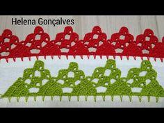 Crochet Romper, Goncalves, Crafts, Youtube, Crochet Appliques, Crochet Baby Hats, Holiday Crochet, Crochet Edging Patterns, Crochet Ornaments