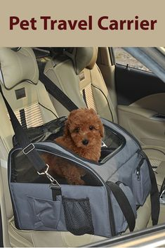 For those who love to travel with their pets, this pet carrier is the right item for you.