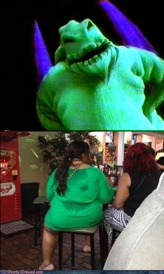Who Wore it Better?   Oh. My. God. !!!!!