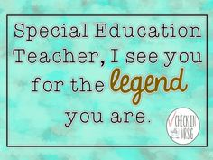Dear teacher in special education, thank you for all you do! Being a teacher in special education brings its own unique set of challenges and rewards. Celebrate the Special Education Teachers in your life. Life Skills Classroom, Teaching Social Skills, Student Teaching, Teaching Resources, Social Skills Lessons, We Are Teachers, Teaching Special Education, Summer School, Rock Stars