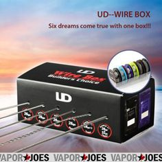 Vapor Joes - Daily Vaping Deals: FLASH SALE: THE UD WIRE BOX / DISPENSER w/ 6 WIRE ...