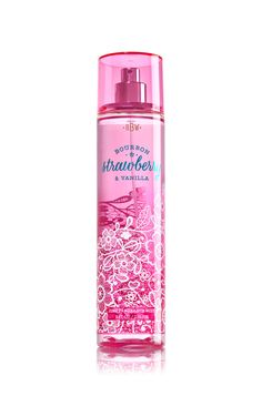Bourbon Strawberry & Vanilla Fine Fragrance Mist - Signature Collection - Bath & Body Works - out of stock