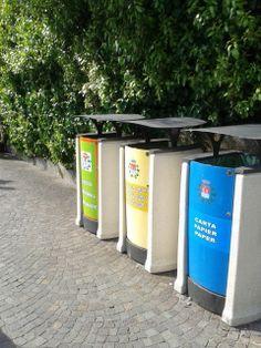 Exterior bins street furniture crystal mmcit for Bellitalia arredo urbano