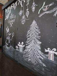 La Fabrique à Déco: Un sapin de Noël au mur : des idées originales pour les…