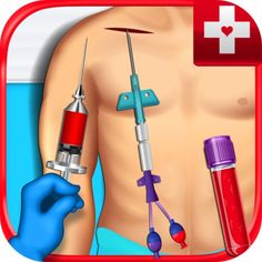 Blood Draw Surgeon & Operation - Central, PICC Line, & Injection Doctor Games FREE by Beansprites LLC,  click to get more information or how to purchase.