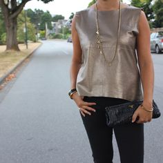 Metallics+Going+into+Fall+»+Champagne+Chic+Life