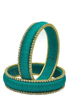 Have a Positive Outlook on #Life. #fashion #jewellery Buy Teal Thread Stone…