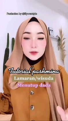 Simple Hijab Tutorial, Hijab Style Tutorial, Kebaya Hijab, Hijab Dress, Stylish Hijab, Casual Hijab Outfit, Pashmina Hijab Tutorial, Diy Fashion Hacks, Wallpaper Aesthetic