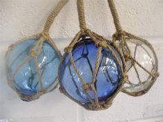 glass fishing net floats