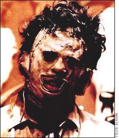 """Gunnar Hansen as Leatherface from """"The Texas Chainsaw Massacre"""" Best Horror Movies, Horror Films, Scary Movies, Horror Icons, Horror Art, The Real Leatherface, Leatherface Costume, Texas Chainsaw Massacre, In And Out Movie"""