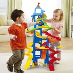 Juguete SUPERCIRCUITO COCHELANDIA DE LITTLE PEOPLE de Fisher Price Precio 45,74€ en IguMagazine #juguetesbaratos