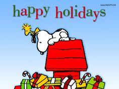 Peanuts Wallpaper: Snoopy Christmas
