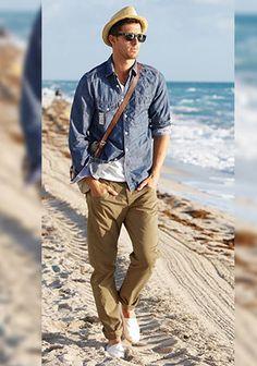 デニムシャツの着こなし・コーディネート | メンズ Italy Web