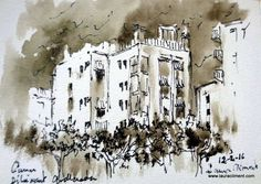 LAURA CLIMENT. drawing. Carrer Dibuixant Avellaneda. TERRASSA Abstract, Drawings, Artwork, Black, Alone Photography, Blanco Y Negro, Paintings, Fotografia, Sketches