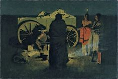 Shotgun Hospitality, by artist Frederic Remington. hand-painted museum quality oil painting reproduction on canvas. Apache Indian, Frederic Remington, Nocturne, O Cowboy, National Gallery Of Art, Oil Painting Reproductions, Art Prints For Sale, Le Far West, Old West