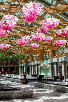 New decoration in Burjuman Mall. August 7, 2015. 12pm.