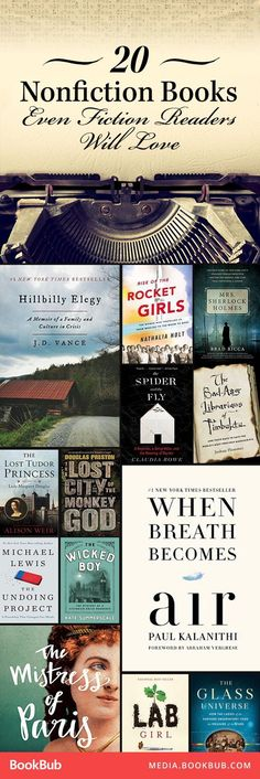 These nonfiction books feature true stories, including historical books about the Tudors and modern memoirs. #FictionBooks