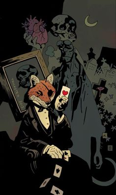 Image result for mike mignola art