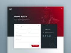 @MaterialUp : The Vocal Company Contact Page   User interface by @pwalzer  https://t.co/ZzXFo4z0mr https://t.co/YDcflFa6GJ
